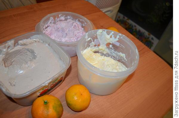 Домашнее мороженое: клубничное, ванильно-мандариновое, крем-брюле. Рецепт с пошаговыми фото