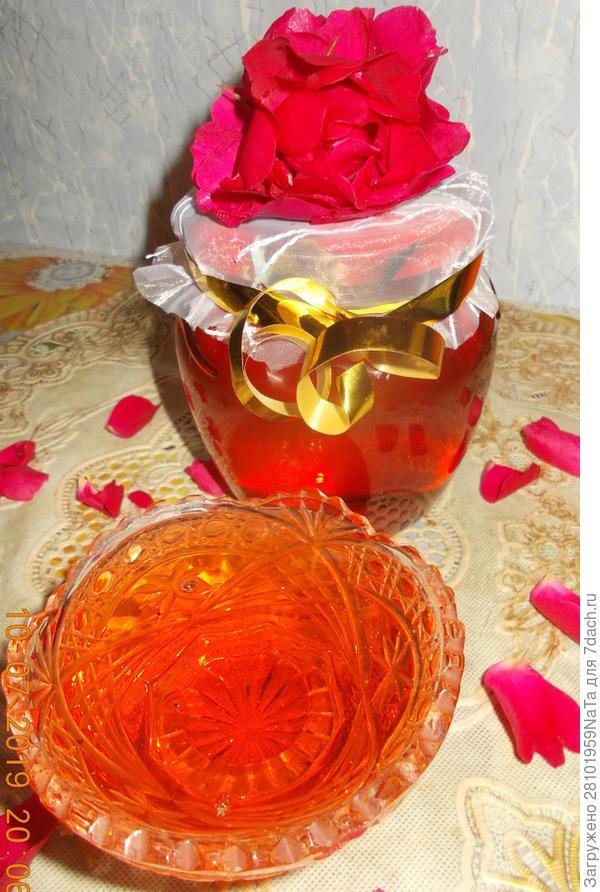 Сироп из розы - пошаговый рецепт приготовления с фото