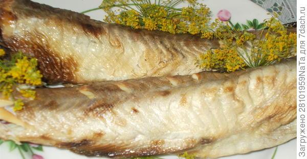 рыба домашнего копчения