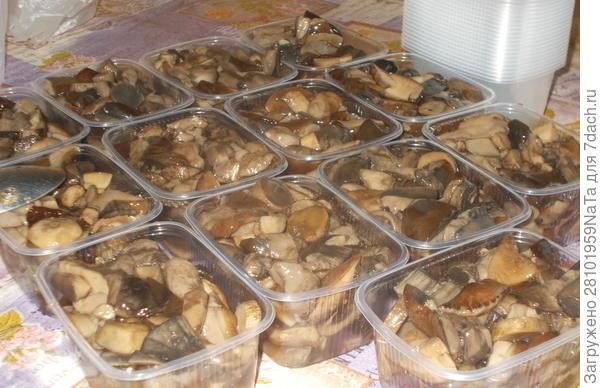Грибы лесные, для замораживания - пошаговый рецепт приготовления с фото
