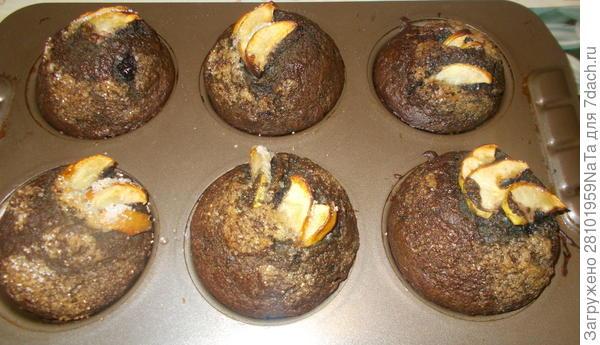 Черничные кексы - пошаговый рецепт приготовления с фото