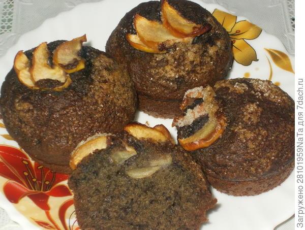 черничные кексы