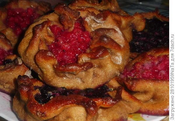 Калитки с ягодами - пошаговый рецепт приготовления с фото