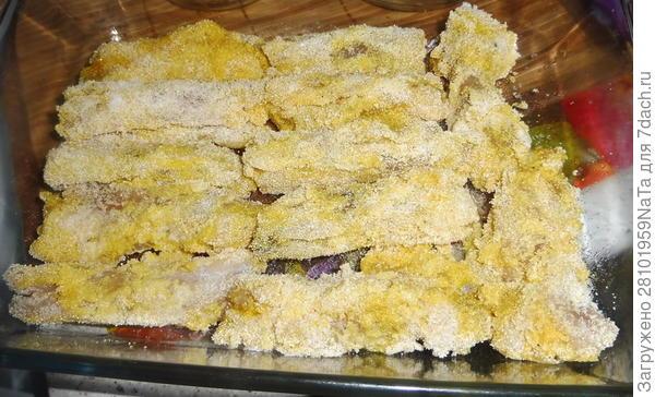 Рыба в кляре и со свежим огурцом - пошаговый рецепт приготовления с фото