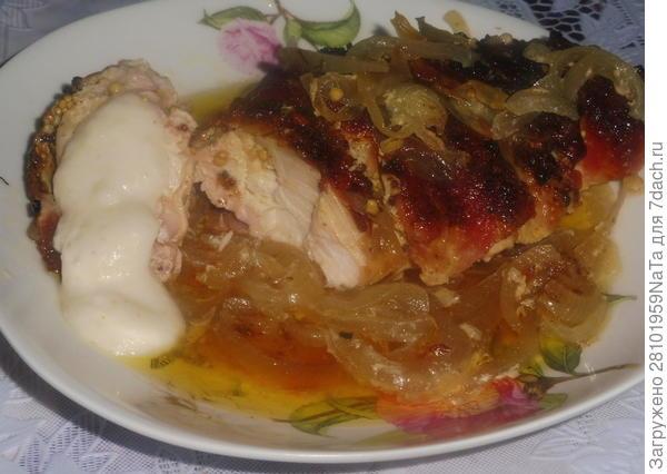 Запеченная в беконе куриная грудка - пошаговый рецепт приготовления с фото