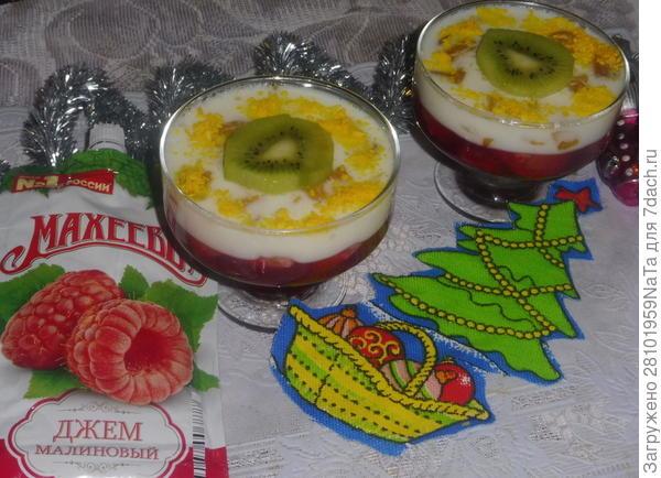 Желейный десерт с мандаринами и манго - пошаговый рецепт приготовления с фото