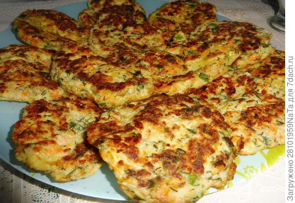 Мюджвер (Mücver) - турецкие оладьи из кабачков. Пошаговый рецепт с фото
