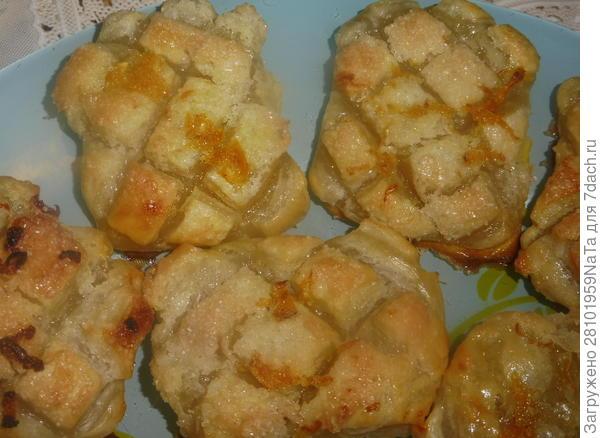 Печенье из слоеного теста с цедрой лимона и апельсина - пошаговый рецепт приготовления с фото