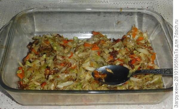 Мясо, запеченное с яблоками и капустой. Пошаговый рецепт с фото