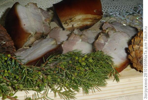 Свиная грудинка домашнего копчения. Рецепт приготовления с пошаговыми фотографиями