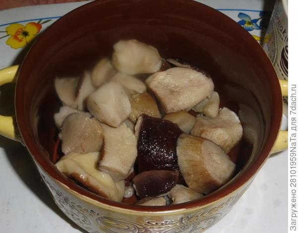 Запеченный картофель в сметане с мясом и грибами. Пошаговый рецепт с фото