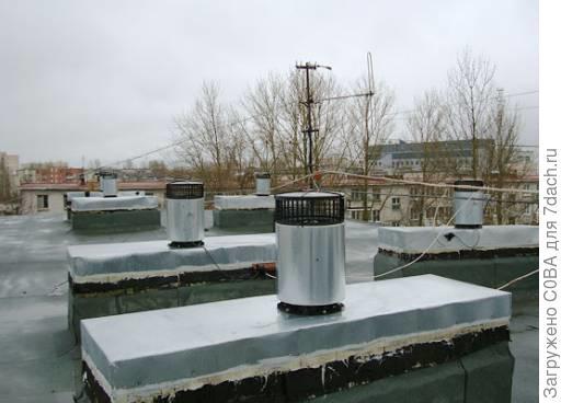 Вот так модернизируют вентиляцию одновременно во всём доме например. Один вентилятор, постоянно работающий на все каналы сразу. Борьба с сыростью например.