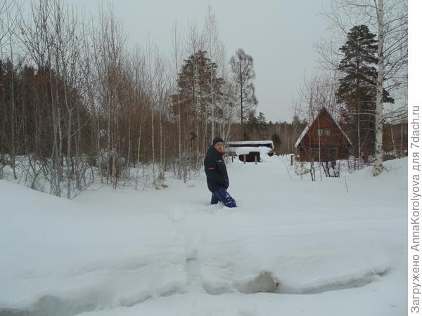 Снег...много снега)))