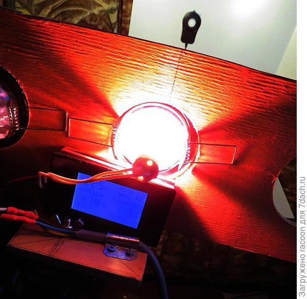 Тестируем галогеновую лампу