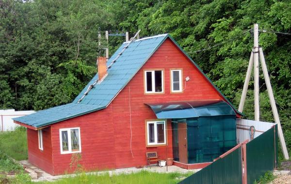 Каркасный дом за 1 млн руб. Фото автора