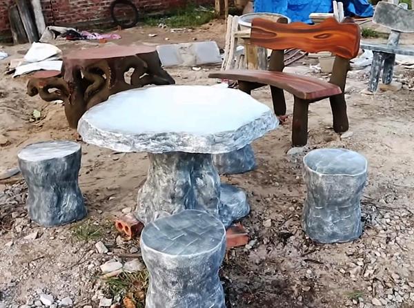 раскрашиваем бетон