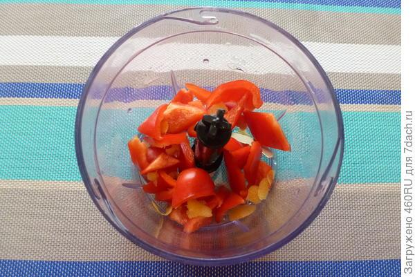 Полосатый овощной смузи с семечками - пошаговый рецепт приготовления с фото