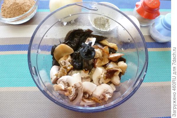 Зуцы (белорусские грибные котлеты) - пошаговый рецепт приготовления с фото