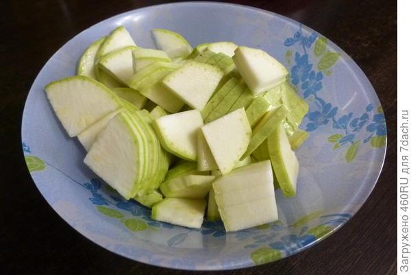 Кабачок, жаренный как картошка - пошаговый рецепт приготовления с фото