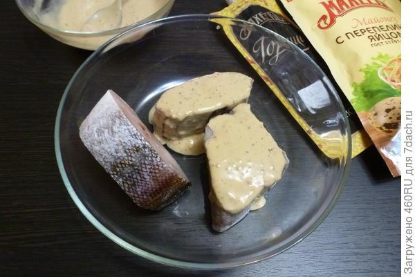 Запечённая пряная треска на черном хлебе - пошаговый рецепт приготовления с фото