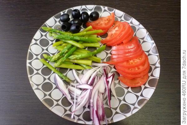 Средиземноморский салат с осьминогом - пошаговый рецепт приготовления с фото