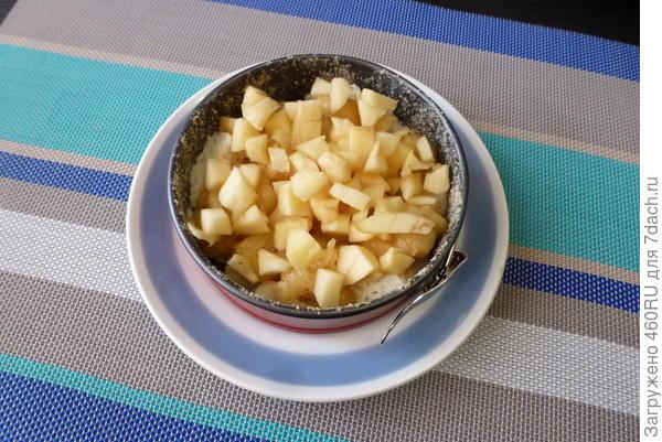 Жемловка (чешский пудинг) с яблоком и бананом - пошаговый рецепт приготовления с фото