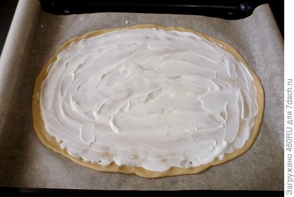 Фламмкухен (немецкий пирог с беконом) - пошаговый рецепт приготовления с фото