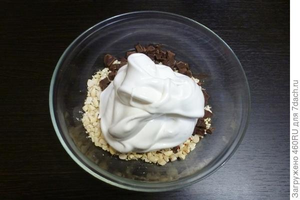 Безе с шоколадом за пять минут - пошаговый рецепт приготовления с фото