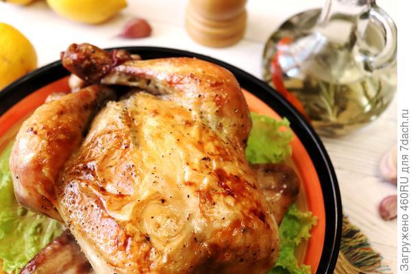 Запеченная курица по-калабрийски (с уксусом) - пошаговый рецепт приготовления с фото