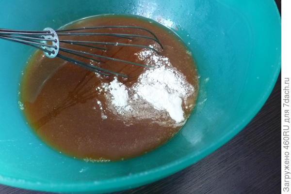 Коврижка; Медовая; пошаговый рецепт приготовления с фото