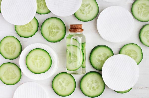 Огурец - еще и прекрасная основа для овощных смузи на завтрак