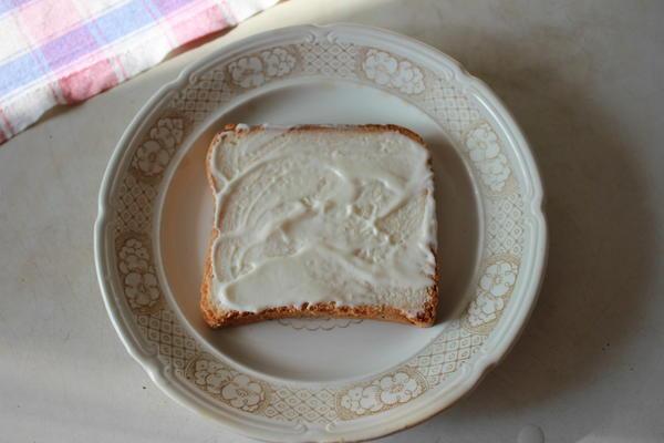 Бутерброд; Палитра художника; пошаговый рецепт приготовления с фото