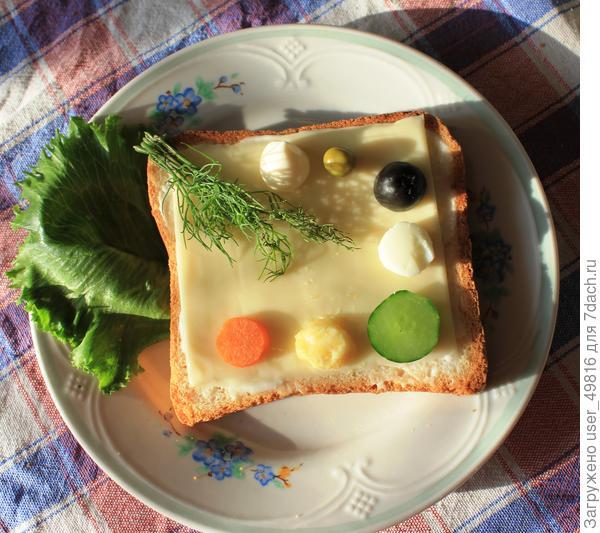 Бутерброд Палитра художника