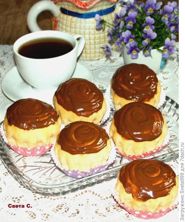 Приготовьте такие булочки и устройте вкусное чаепитие!
