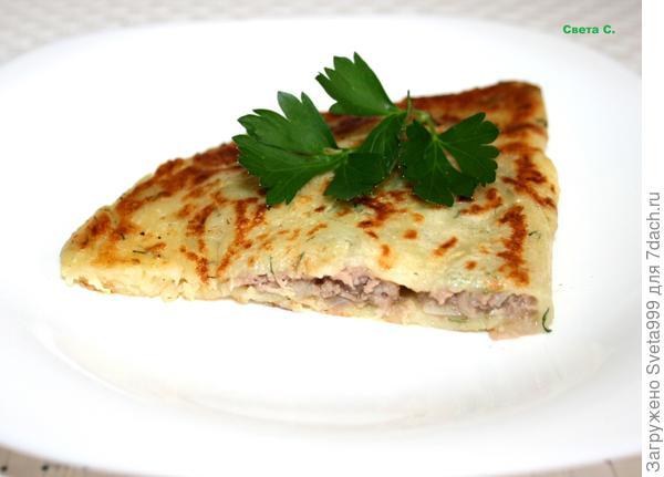 Кабачковые чебуреки - пошаговый рецепт приготовления с фото