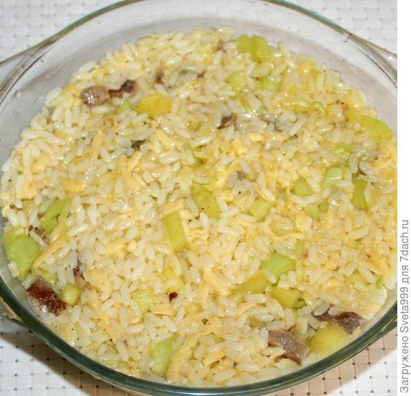 Рисово-овощная запеканка с мясом - пошаговый рецепт приготовления с фото