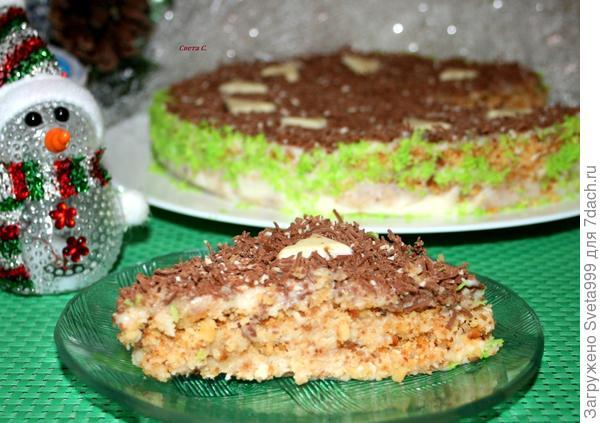 Торт из крошки