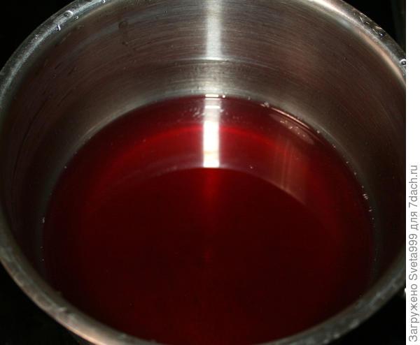 Вишневый мусс - пошаговый рецепт приготовления с фото