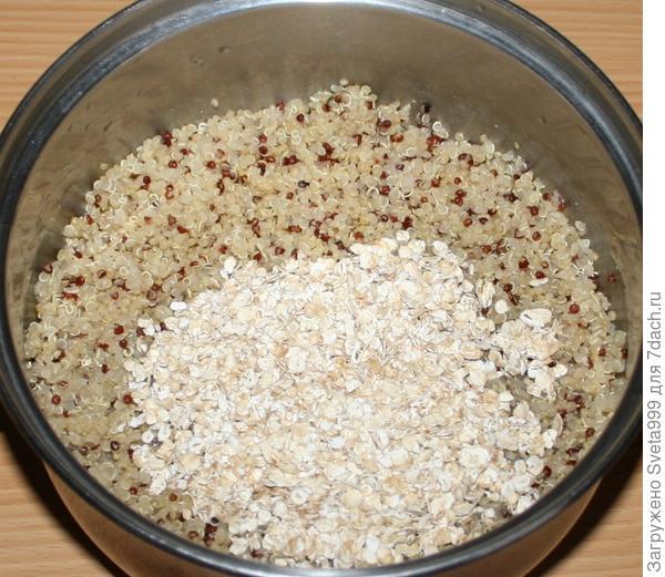 Постная закуска из киноа с грибами и вялеными томатами - пошаговый рецепт приготовления с фото