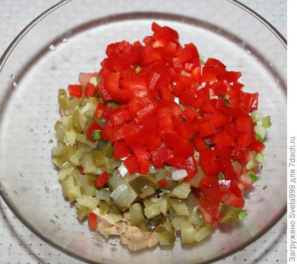 Постный салат с рисом и шампиньонами. Пошаговый рецепт с фото