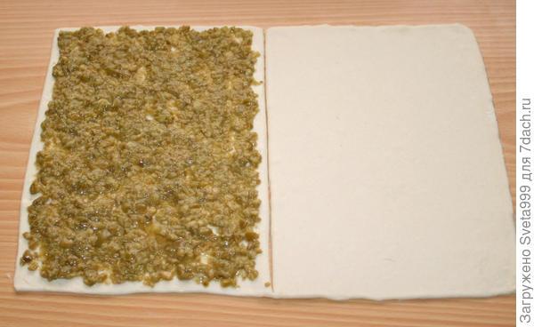 Слоеные палочки с оливками - пошаговый рецепт приготовления с фото