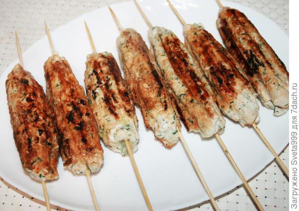 Люля-кебаб из курицы на гриле - пошаговый рецепт приготовления с фото