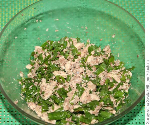 Закуска; Ракушки; из слоеного теста и консервированной сайры - пошаговый рецепт с фото
