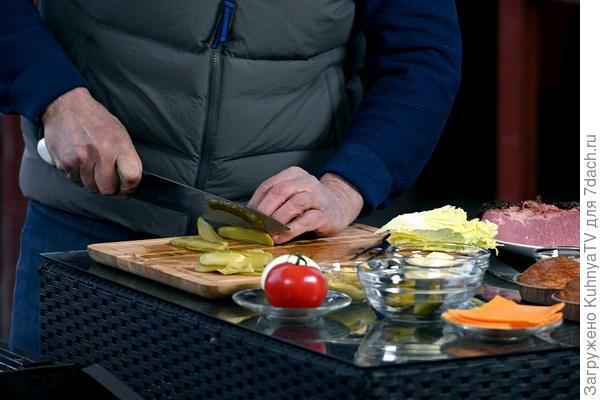 Вкусный бургер: пошаговый рецепт от шеф-повара, видео