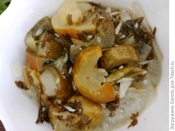 Салат из огурцов. Заготовка на зиму. Пошаговый рецепт с фото