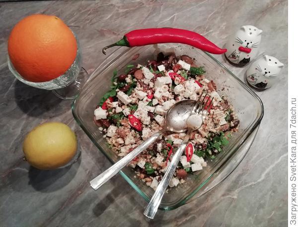 Хорватский фасолевый салат
