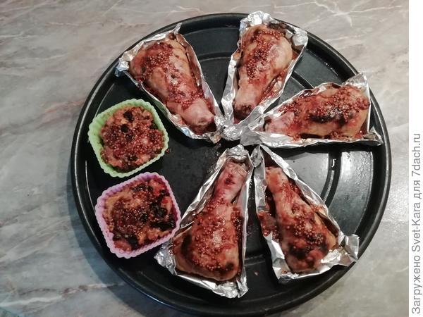 Фаршированные куриные голени - пошаговый рецепт приготовления с фото