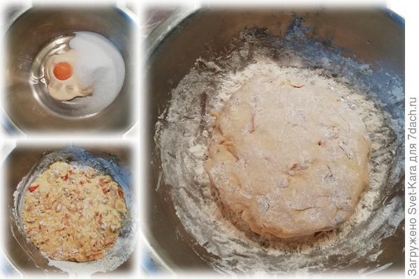 Сливочное печенье с тыквенными цукатами, изюмом и кардамоном. Пошаговый рецепт с фото