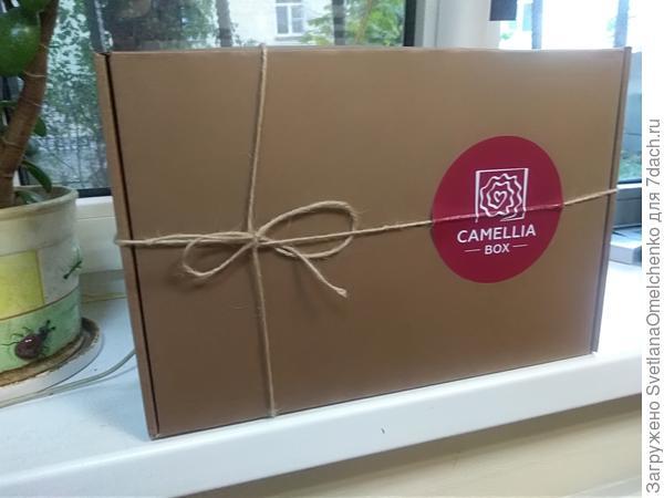 Такая симпатичная коробочка