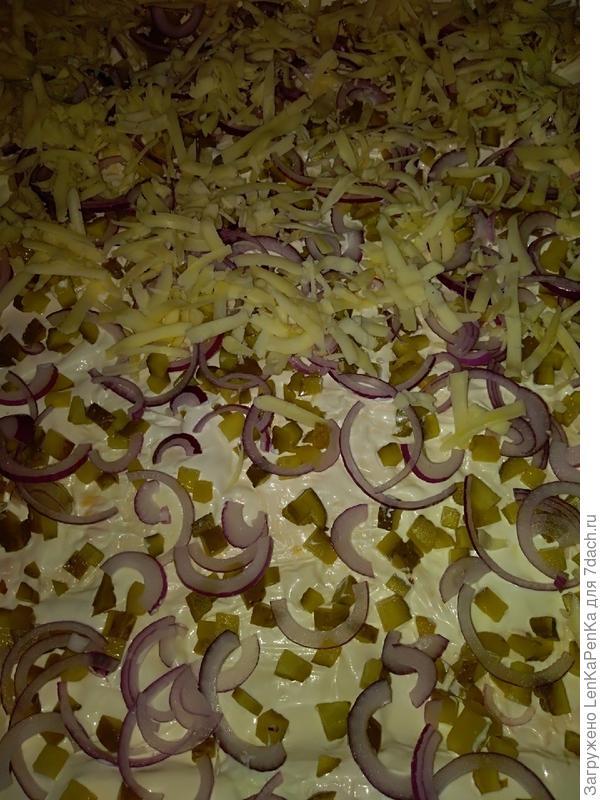 Ленивый тарт фламбе - пошаговый рецепт приготовления с фото